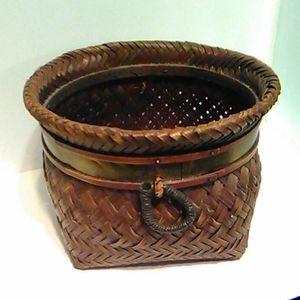 2 Handle Wicker Basket